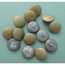 Gilt Pebbled Buttons