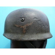 Single Decal Fallschirmjäger Helmet (Saint-Lo)