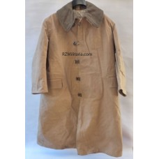 British Kapok Cold Weather Canvas Coat - 1941