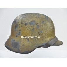 Luftwaffe M35 Sawdust Tan Tropical Camouflage Helmet (Named)